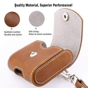 apple airpod case leather