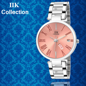 IIK Collection new Luxury Watches, Classy Brown Dial, Matte Brown Case Worked With Quartz Movement.