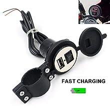 bike mobile charger holder