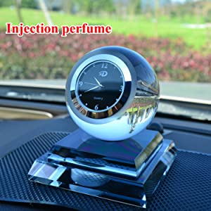 Taslar Amp Stylish Crystal Car Watch Decorative Adorable Car