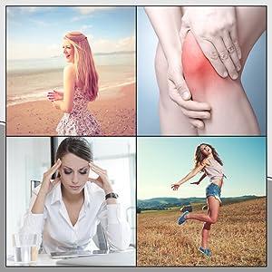 Hot Stone Massager Mattress