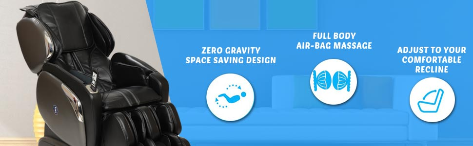 zero gravity massager chair
