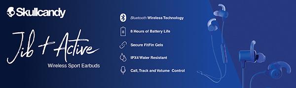 Skullcandy Jib Plus Active Sport Wireless