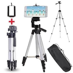 3e92dd3b9 Tygot 3110 Portable Mobile   Camera Tripod with Mobile Holder   Bracket    Carry Bag