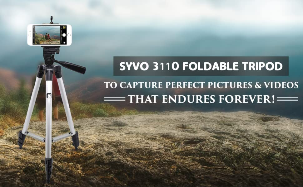 Syvo Tripod Mobile Adjustable Stable Amazing