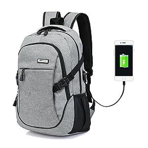 usb port laptop backpack for men