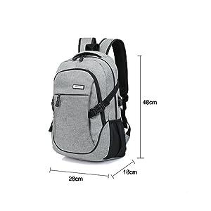 multi function usb port backpack