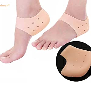 Silicon heel support