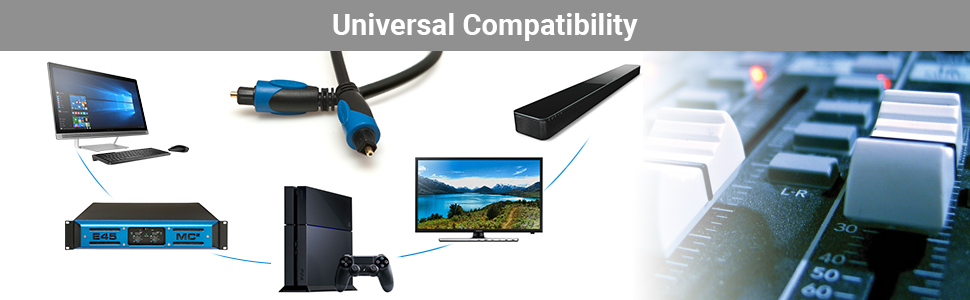 Compatibility, toslink