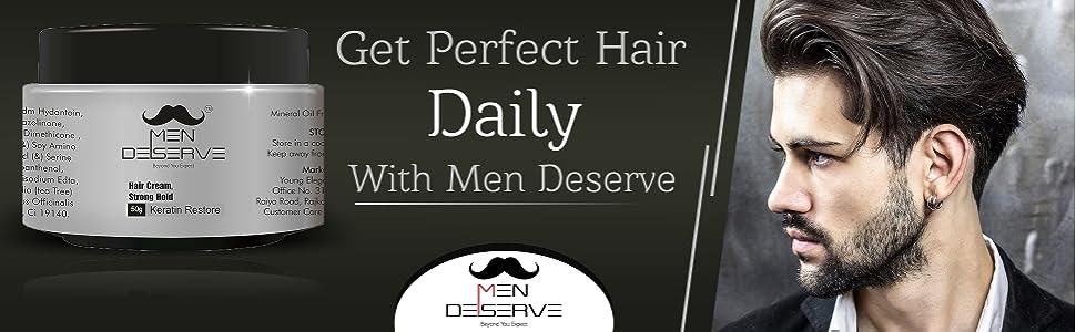 Men Deserve Hair Styling Cream