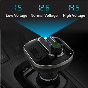 Car Voltage Display