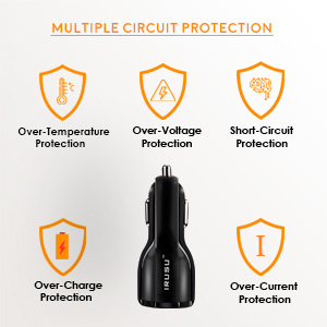 QC3.0 mobile car charger