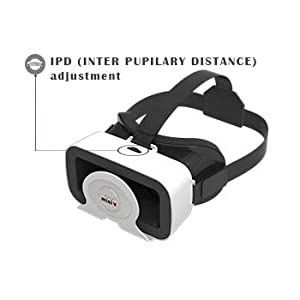 vr headset with remote