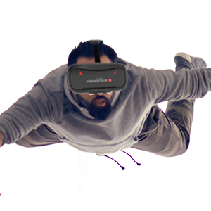experience the real vr experience on irusu vr headsets box