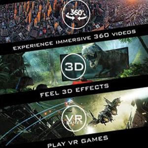 360 vr headset box for mobiles