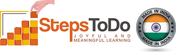 Steps To Do StepsToDo Joyful and Meaningful Learning Educational Actvity Made in India Toys
