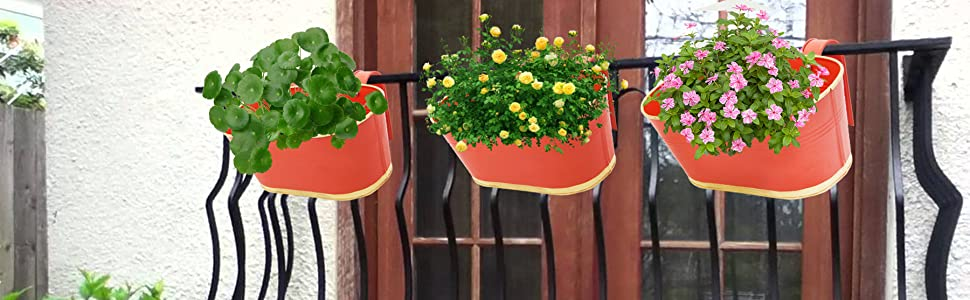 Railing Planters for balcony