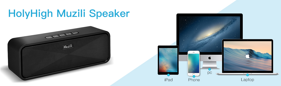 Speaker work with many bluetooth devices
