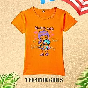 ESNINO Boys' Cotton T-Shirt (