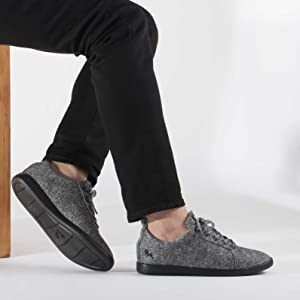 Neemans Grey Wool Sneaker & Casual Shoes & Jogging Shoes & Running Shoes