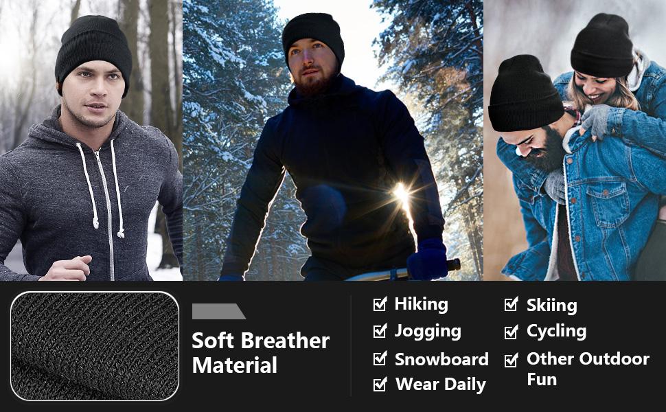 Winter warme Polar Fleece Beanie Mütze Camouflage Style Windproof Hut