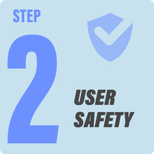 Step2 - User Safety