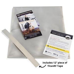 mission darkness titan rf faraday fabric conductive material signal block emf emp deflection
