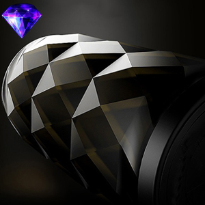 Diamond cutting surface technology of portable Bluetooth speakers