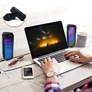 1 Bluetooth speaker can connect a pair of Bluetooth speakers
