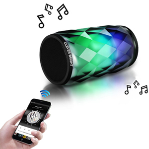 This speaker is Bluetooth 4.1 wireless speaker,very easy to find Bluetooth and connect.