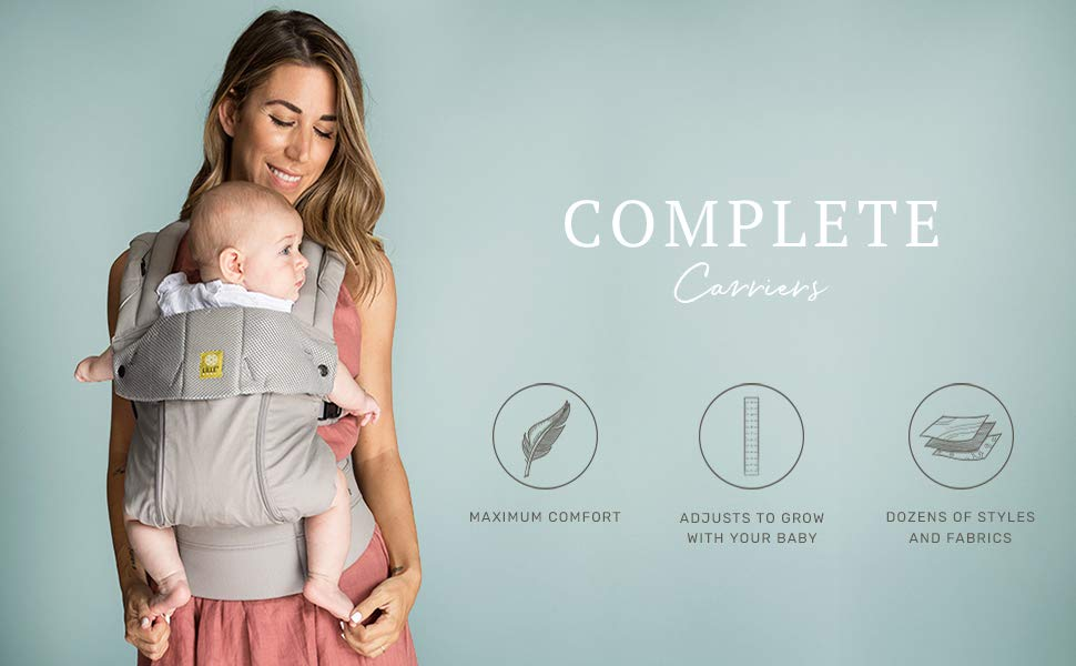 Complete Carriers - Comfort, Adjustable, Dozens of Styles and Fabrics