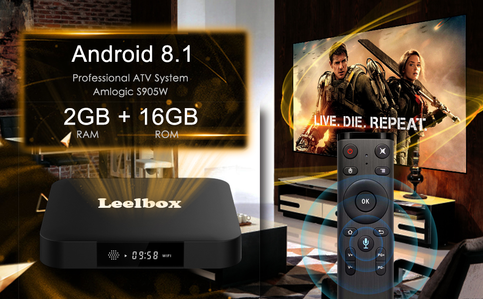 Android 8 1 TV Box, 2019 Update Edition Leelbox MXQ PRO Smart Android TV  Box 2GB RAM 16GB ROM Quad Core Android Box Supports 4K Full HD/3D  Movie/H 265