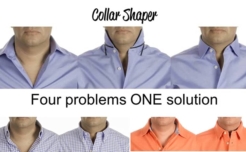THE ORIGINAL Collar Stays /& Placket stays Works On ANY Collared shirt!