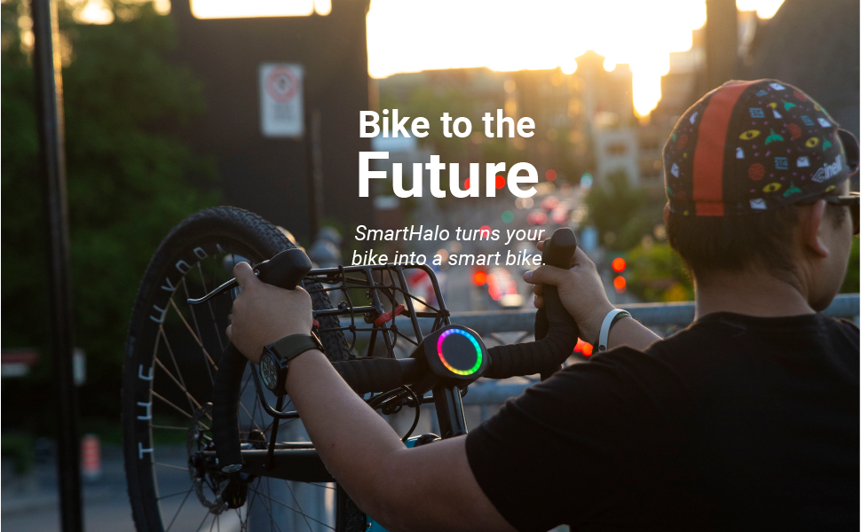 SmartHalo Smart Vélo Accessoire Cyclisme Système Alarme Lumière GPS Navi neuf sold out