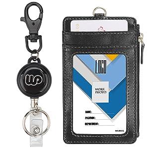 Porte-badge rétractable