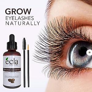 Grow Your eyelashes naturally
