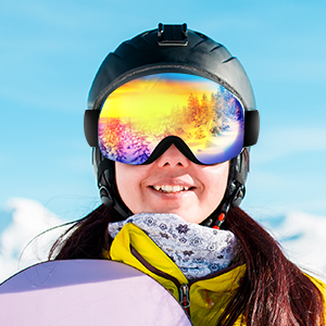 Ski skiing snowboarding snow skating skate snowmobile goggles mens youth women boys girls