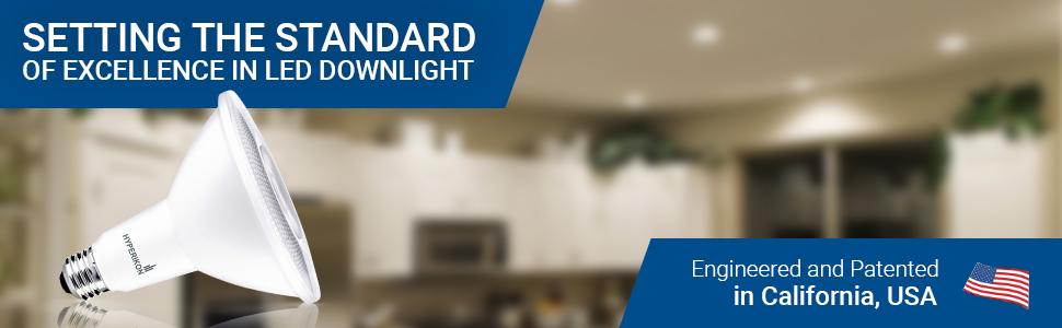 Medium Base ENERGY STAR 1240 lumens 14W Inc. CRI 90+ Hyperikon PAR38 LED Bulb Dimmable Daylight Glow Office Flood Light Bulb 6 Pack Kitchen 100W Equivalent E26 Great for Backyard 4000K