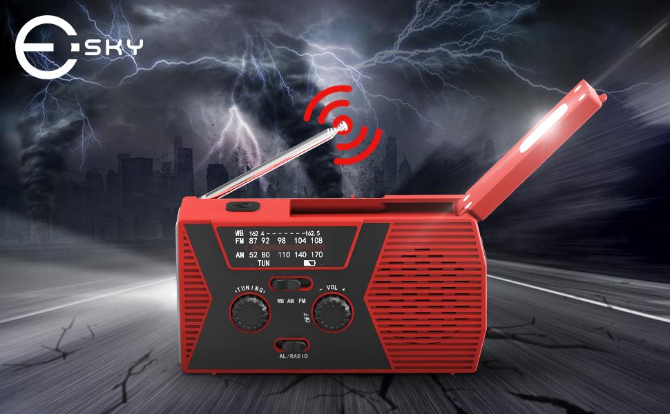 2.emergency radio