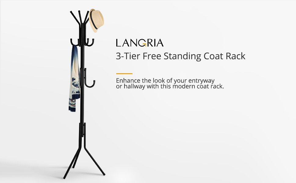 stand standing loft boston furnishings coat pd at lowes shop black hook free rack com