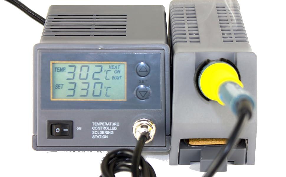 55-005 Stanz Variable Temperature Soldering Station soldering iron gun