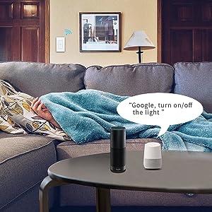 Wifi Smart Wall Switch Google