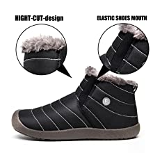 Men's Boots Weweya New Men Winter Shoes Unisex Waterproof Snow Boots Plush Inside Keep Warm Ankle Boots Couple Sneakers Ski Boots Size 48 Always Buy Good
