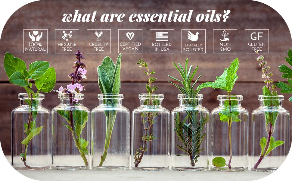 essential oils natural organic 100 pure