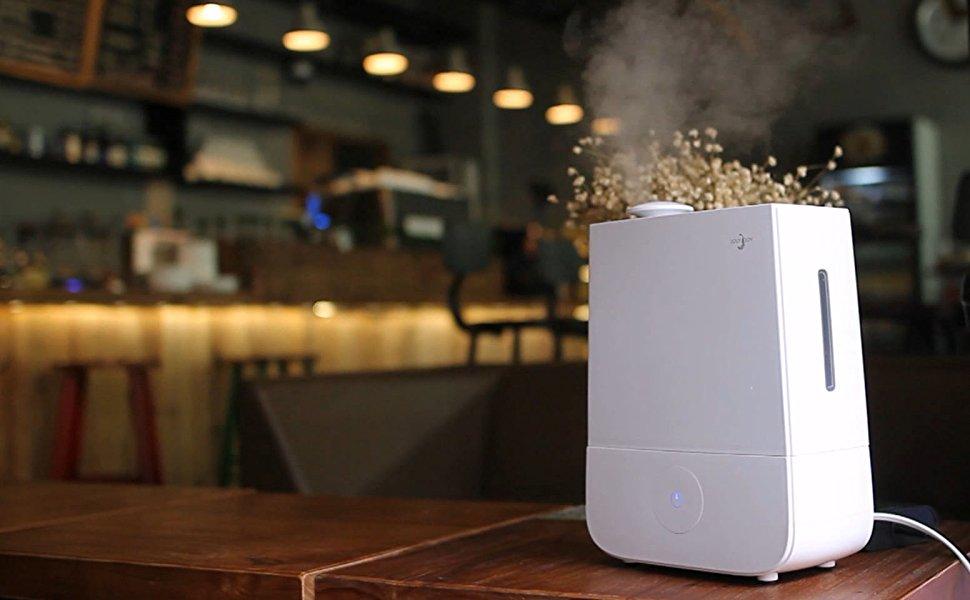 Joly Joy 4l Ultrasonic Cool Mist Humidifier Whisper Quiet