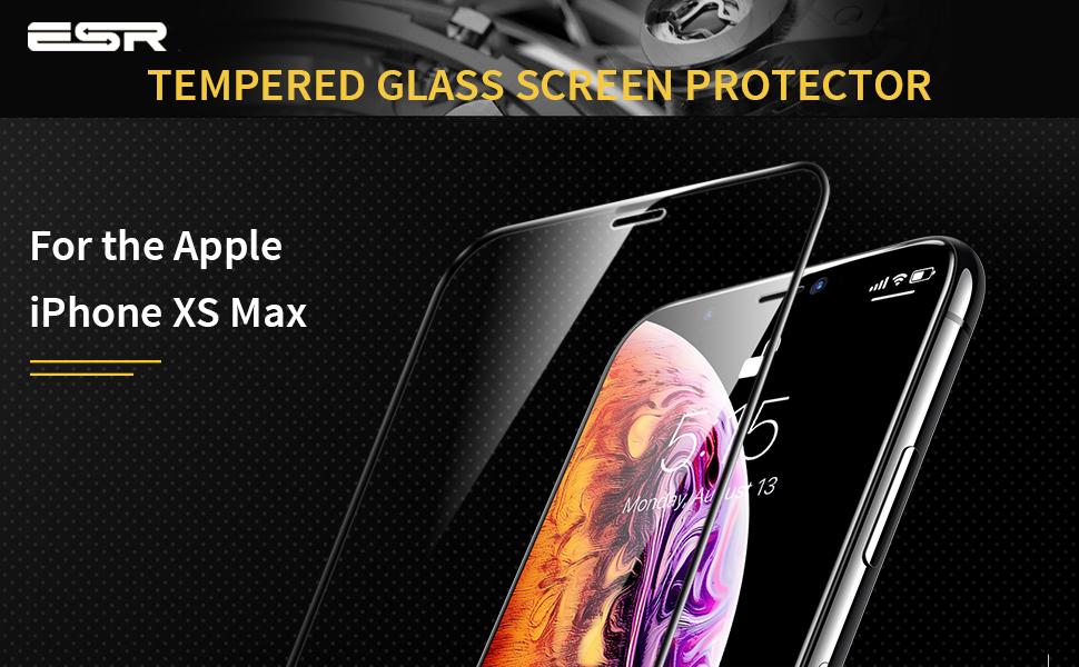 ESR iPhone Xs Max screen protector