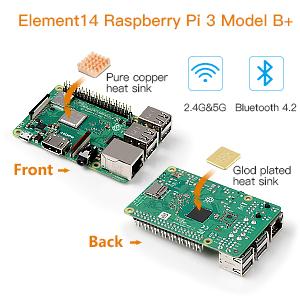 Globmall abox raspberry pi 3 model b starter kit