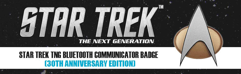 star trek enterprise gear discovery voyager gifts badge tng uss ds9 merchandise toy tricorder