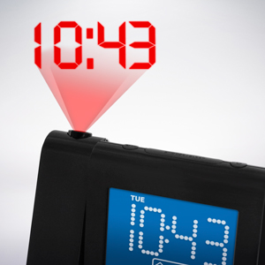 Electrohome Projection Alarm Clock With Am Fm Radio