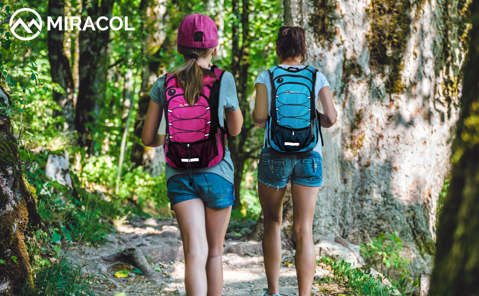 Miracol Hydration Backpack with 2L Water Bladder, Thermal Insulation Pack Keeps Liquid Cool up to 4 Hours, Prefect Outdoor Gear for Skiing, Running, Hiking, Cycling (Blue): Amazon.ca: Sports & Outdoors
